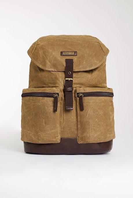 Arcus Waxed Back Pack Bark