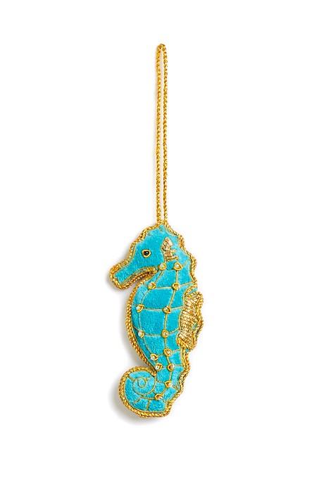 Seahorse Decoration Turquoise