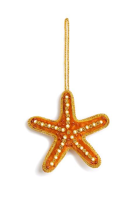 Starfish Christmas Decoration Coral