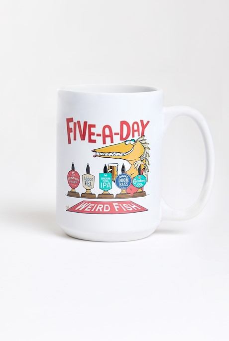 Five A Day Artist Tee Mug