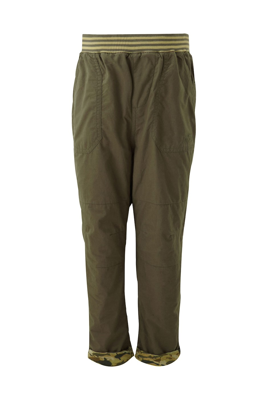 Devin Jersey Lined Cargo Dark Olive (Size Age 14)