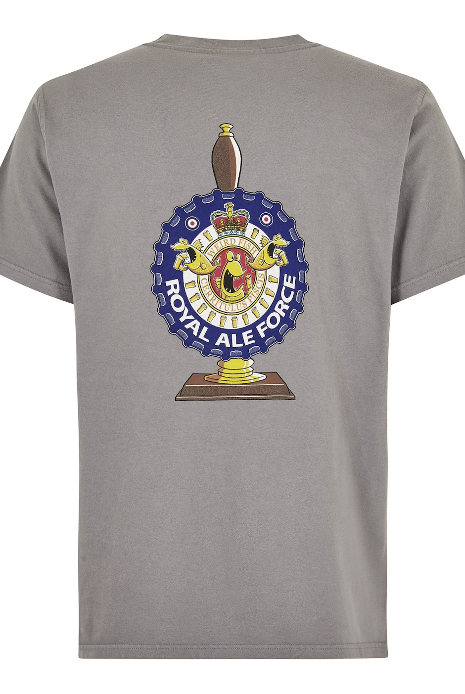 Royal Ale Force Artist T-Shirt Steel Grey