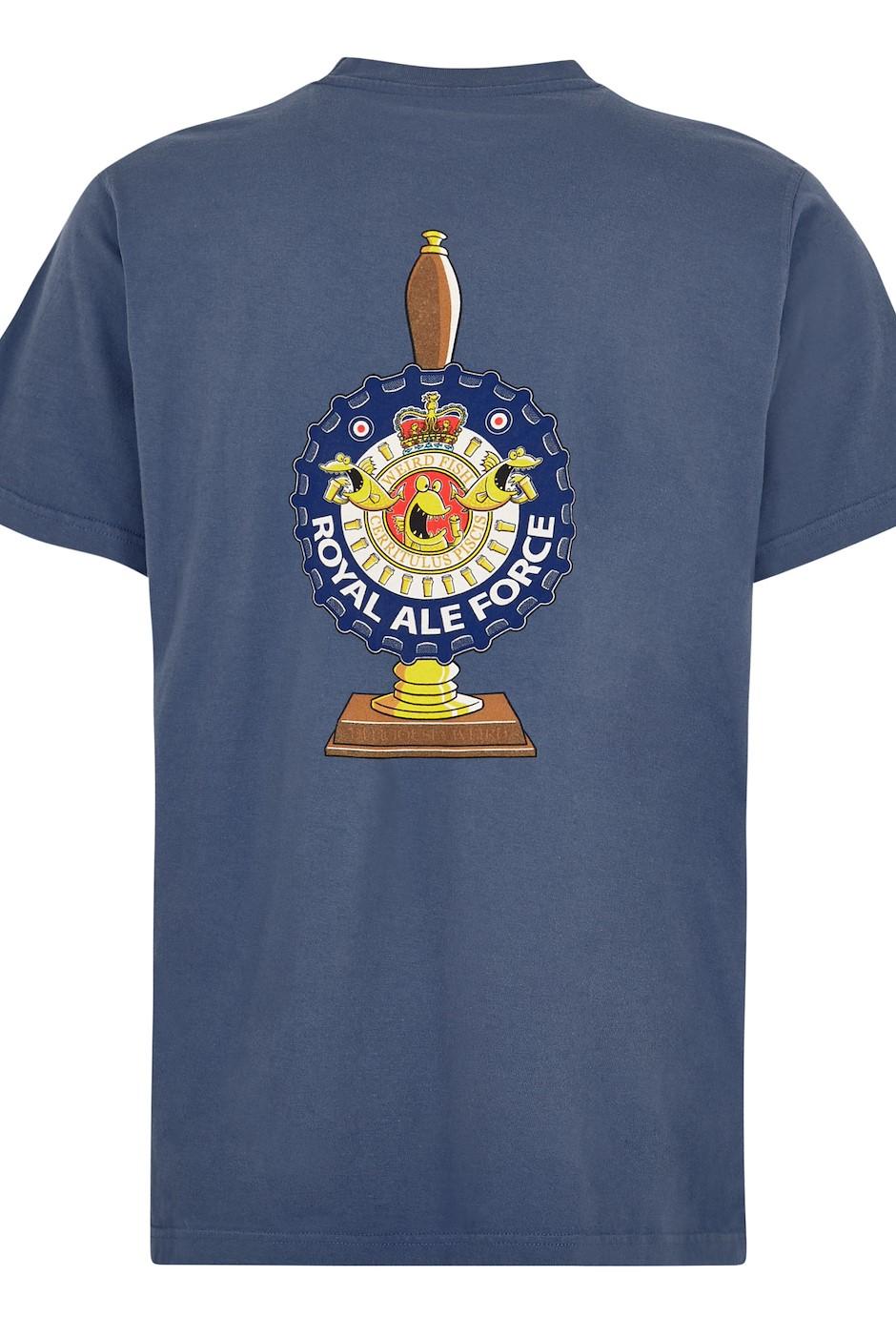 Royal Ale Force Artist T-Shirt Blue Indigo