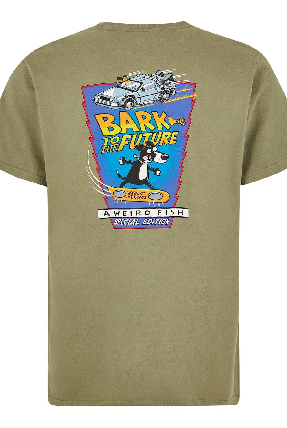 Bark Future Artist T-Shirt Khaki Green