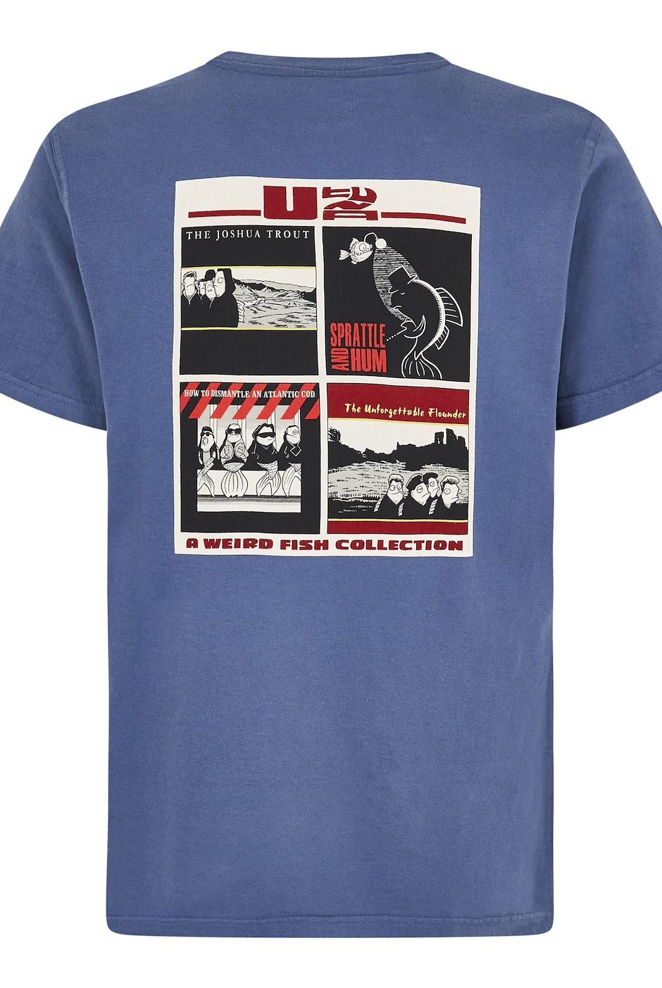 U Tuna Artist T-Shirt Blue Indigo