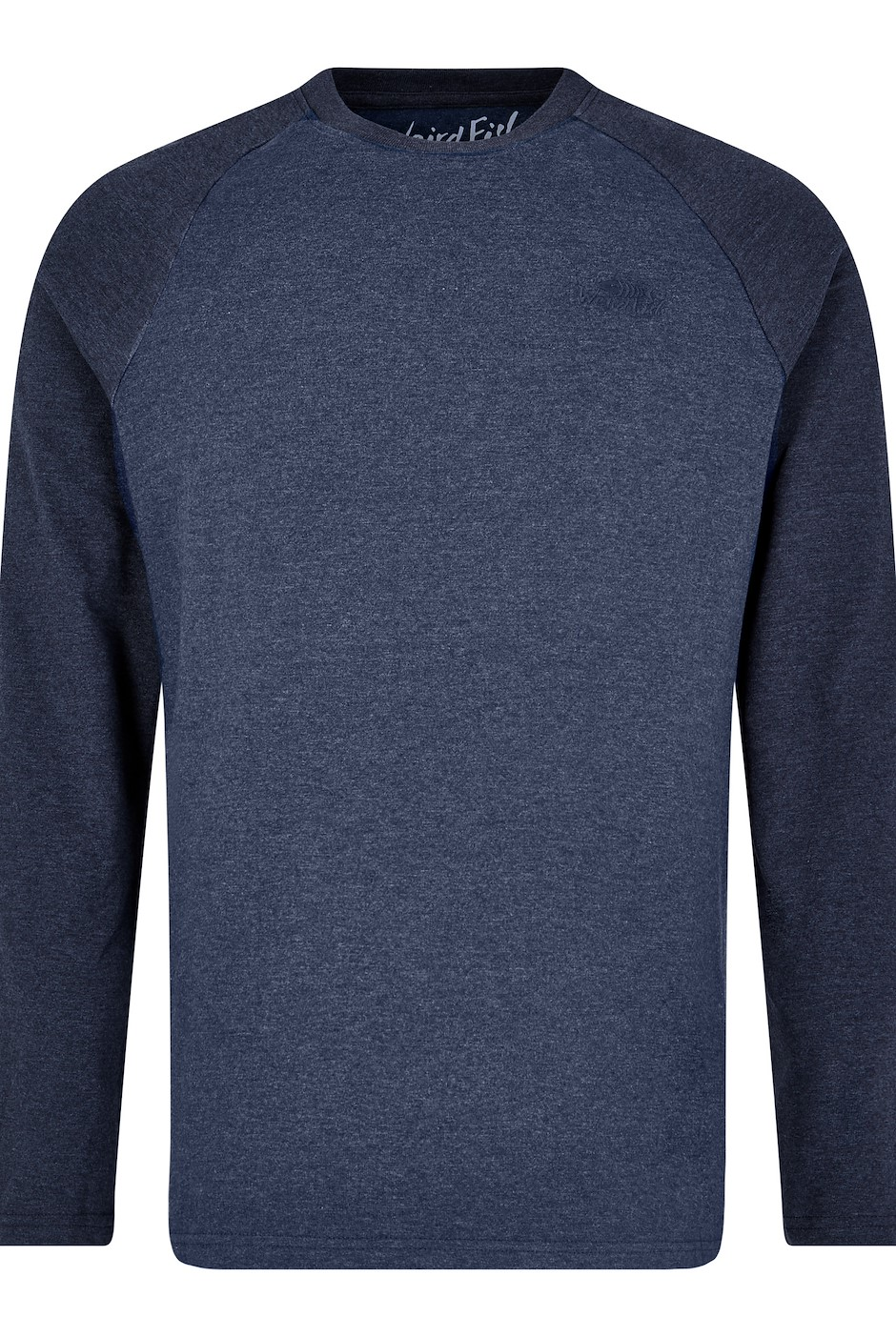 Askill Plain Long Sleeve T-Shirt Navy Marl