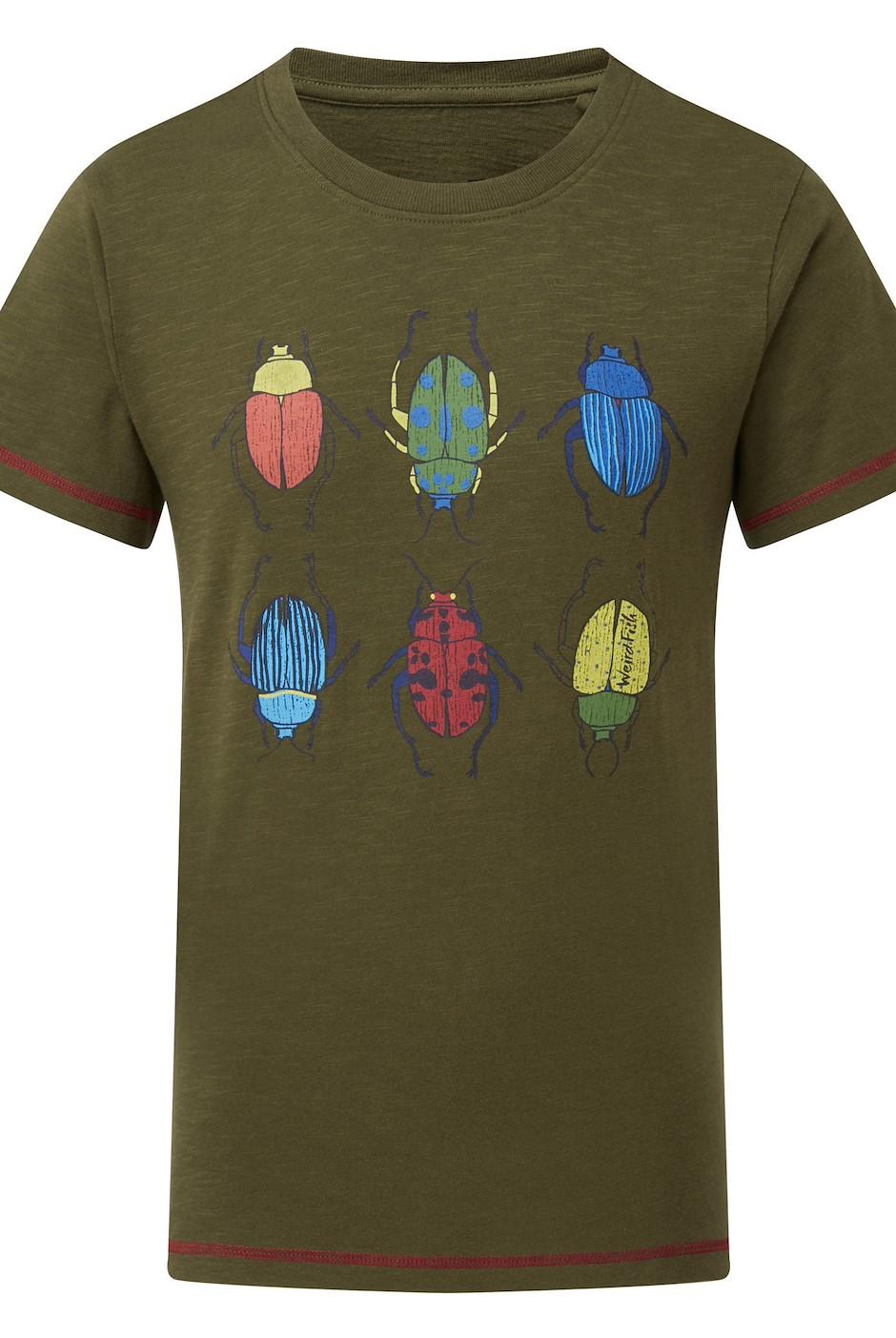 Manny Graphic T-Shirt Dark Olive