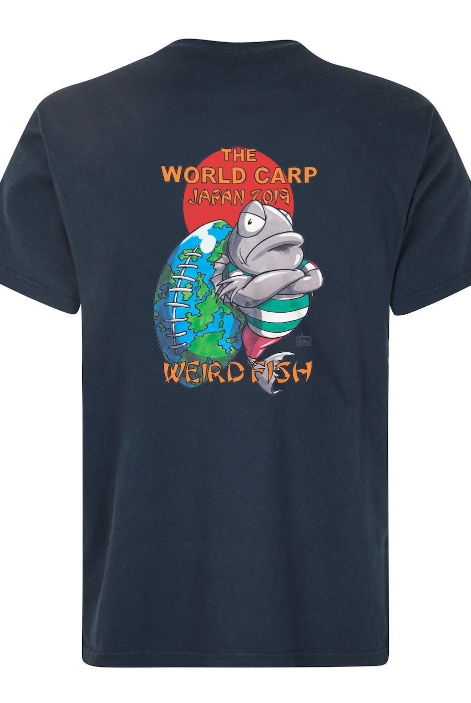The World Carp Artist T-Shirt Navy