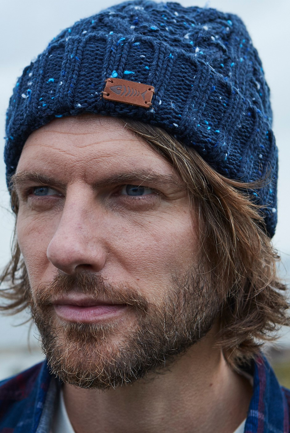 Witsel Nepp Cable Beanie Navy