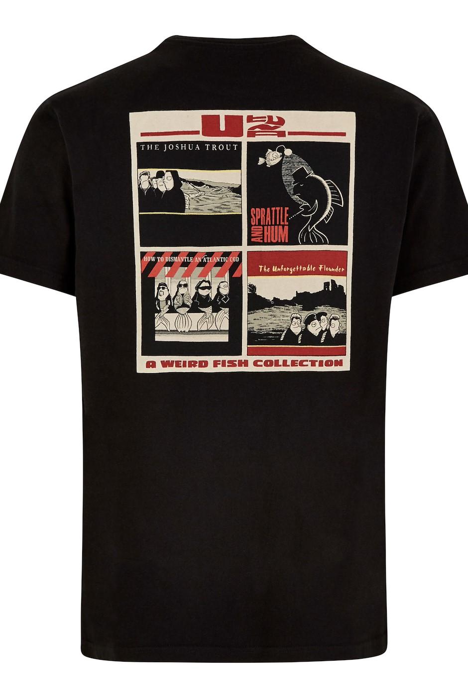 U Tuna Artist T-Shirt Black