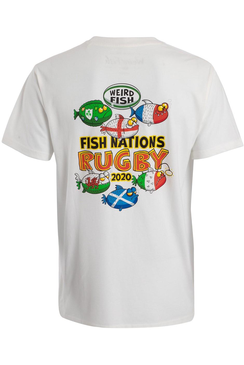 Fish Nations Artists T-Shirt Marshmallow