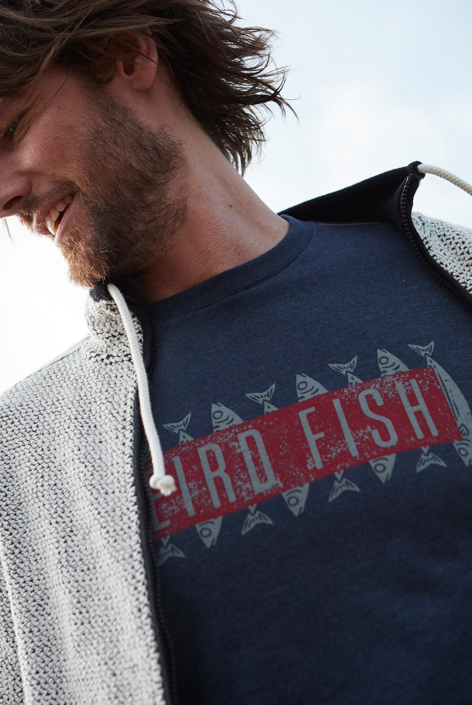 Mackie Graphic T-Shirt Navy