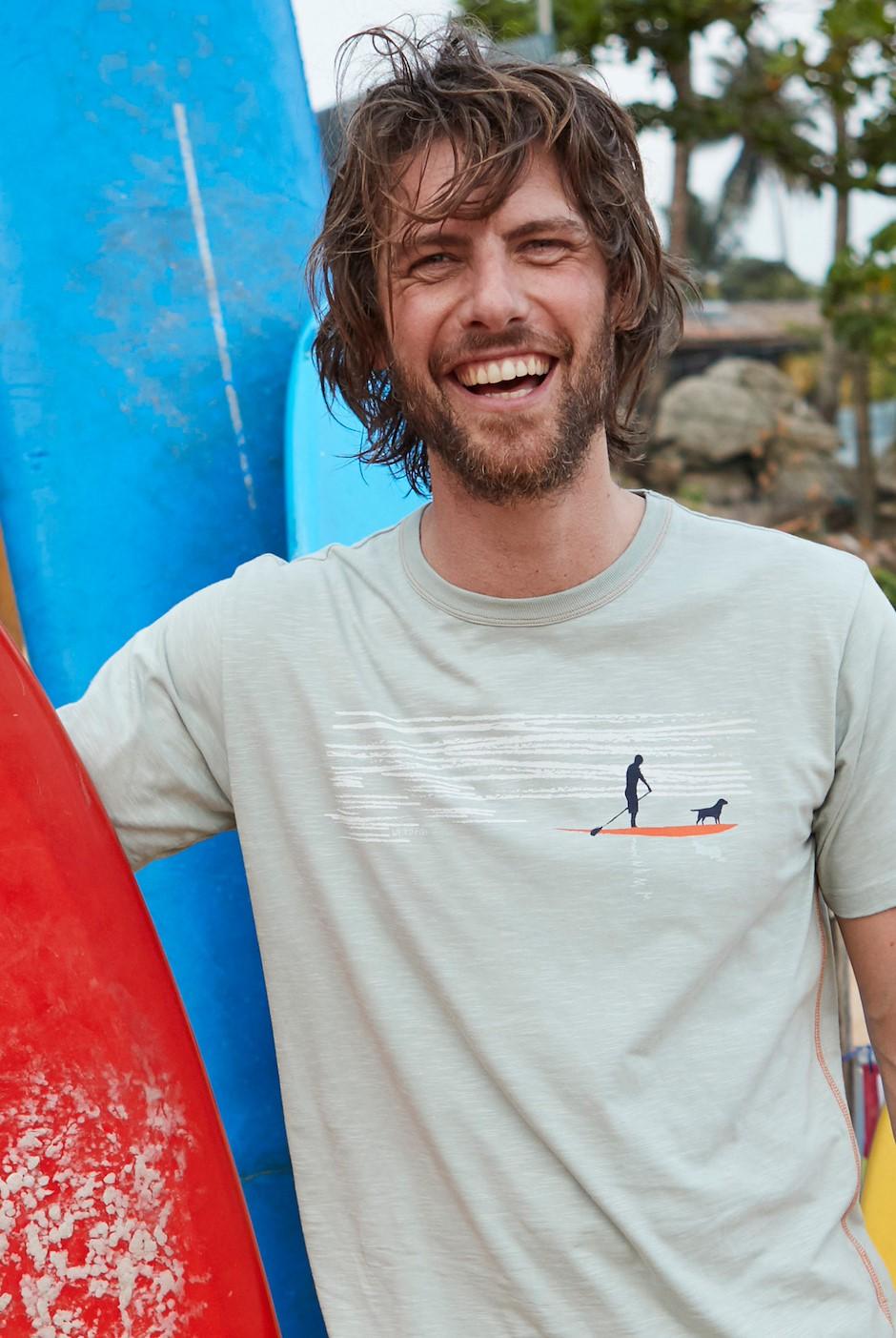 Sup Dog Graphic T-Shirt Pistachio