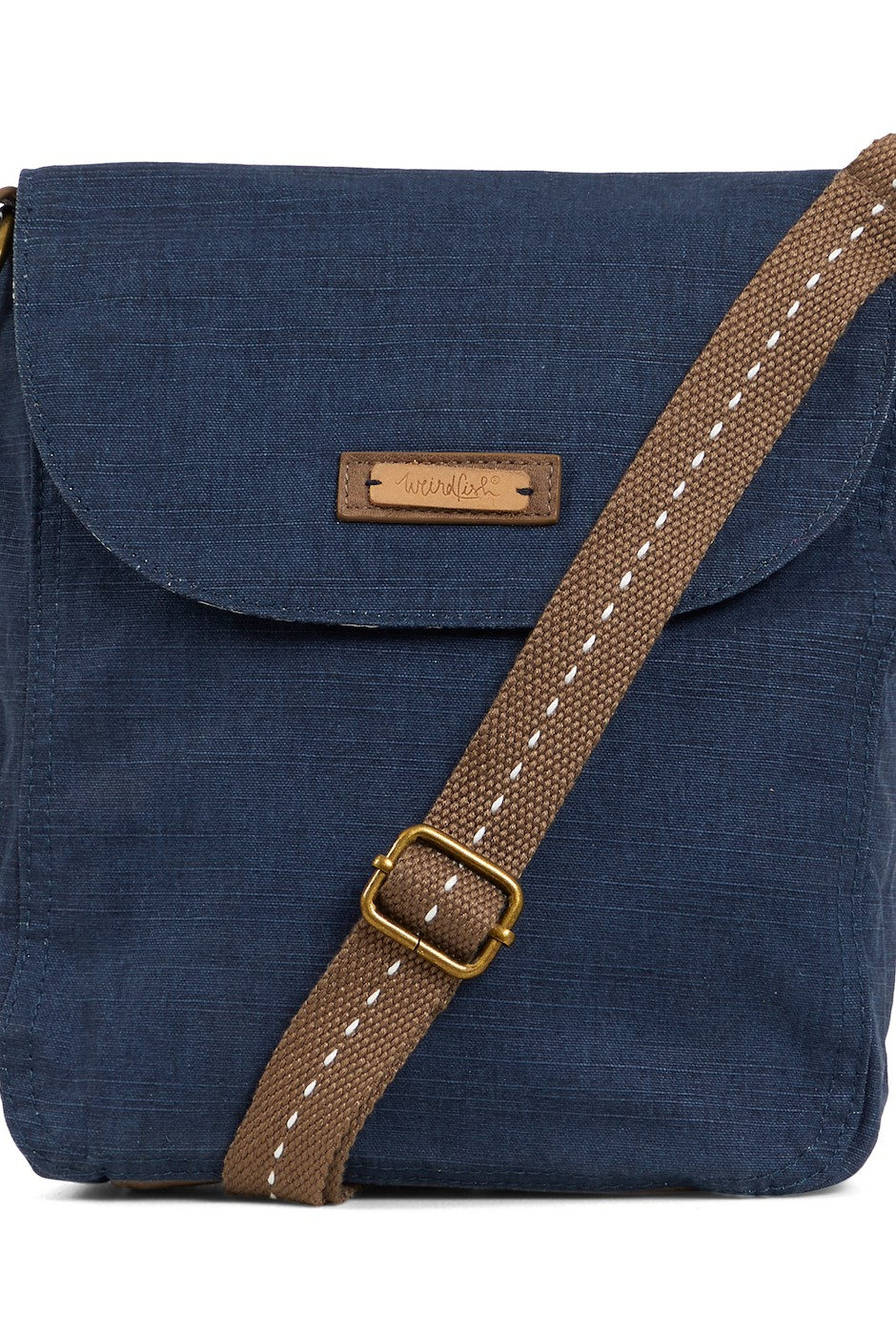 Loula Plain Cross Body Bag Navy