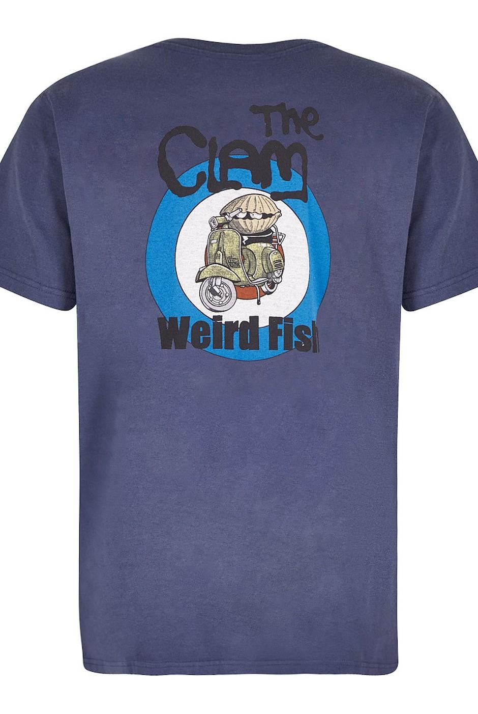 The Clam Artist T-Shirt Blue Indigo