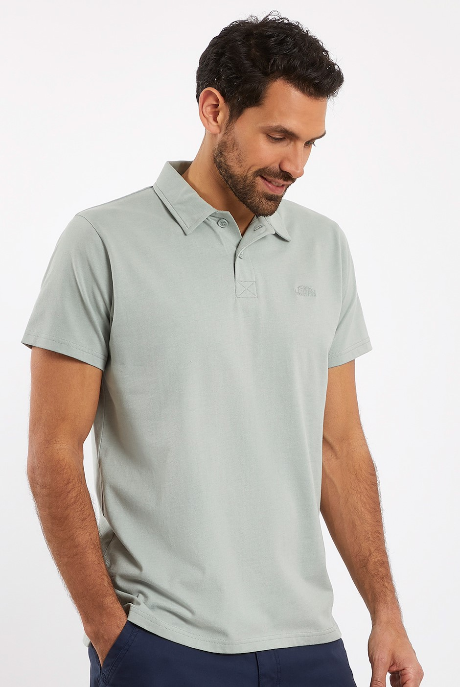 Quay Branded Polo Shirt Pistachio