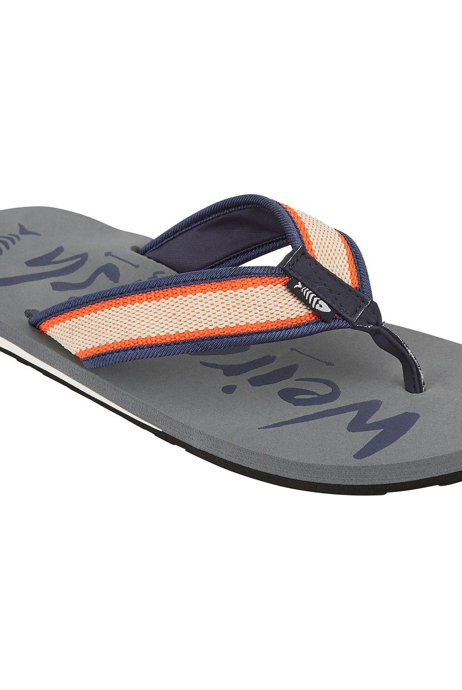 Waterford Branded Flip Flop Ash Grey
