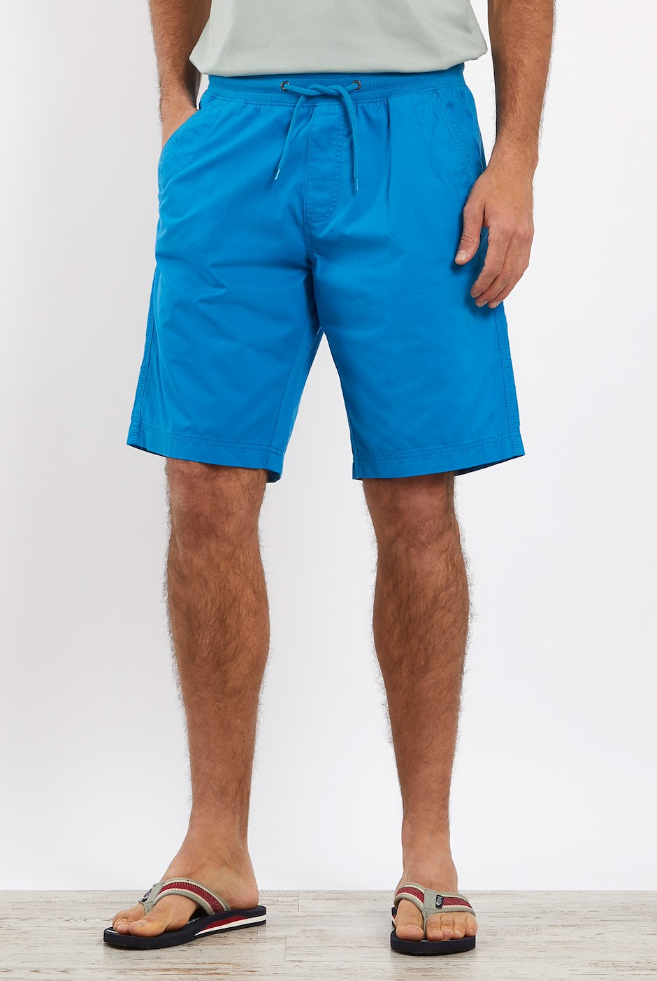Murrisk Relaxed Casual Shorts Blue Wash