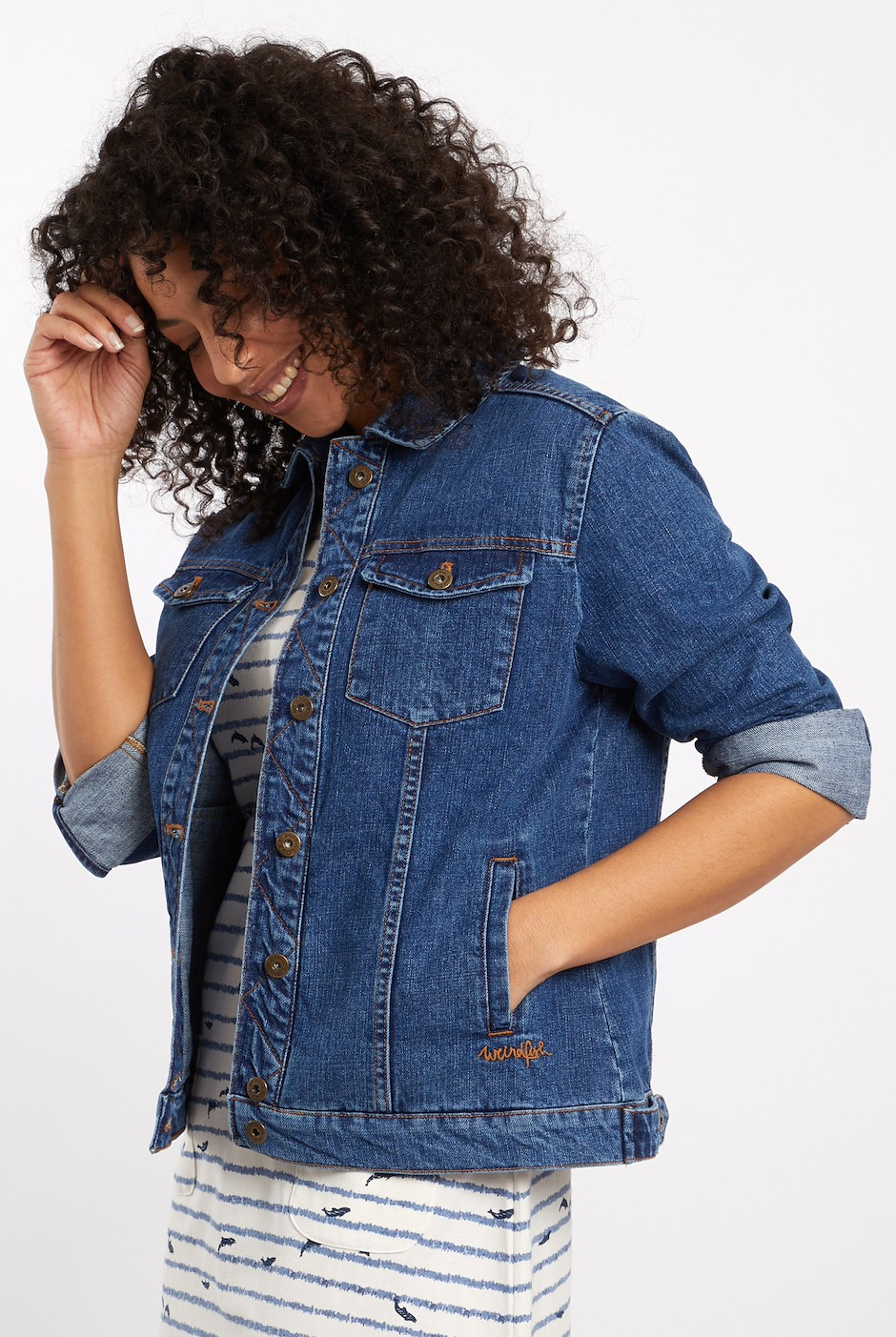 Julia Denim Jacket Light Denim