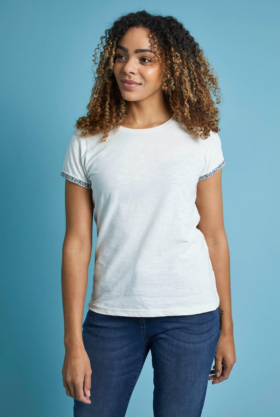 Trinity Organic Cotton Outfitter T-Shirt Light Cream