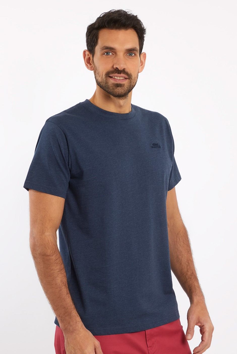 Fished T-Shirt Navy Marl