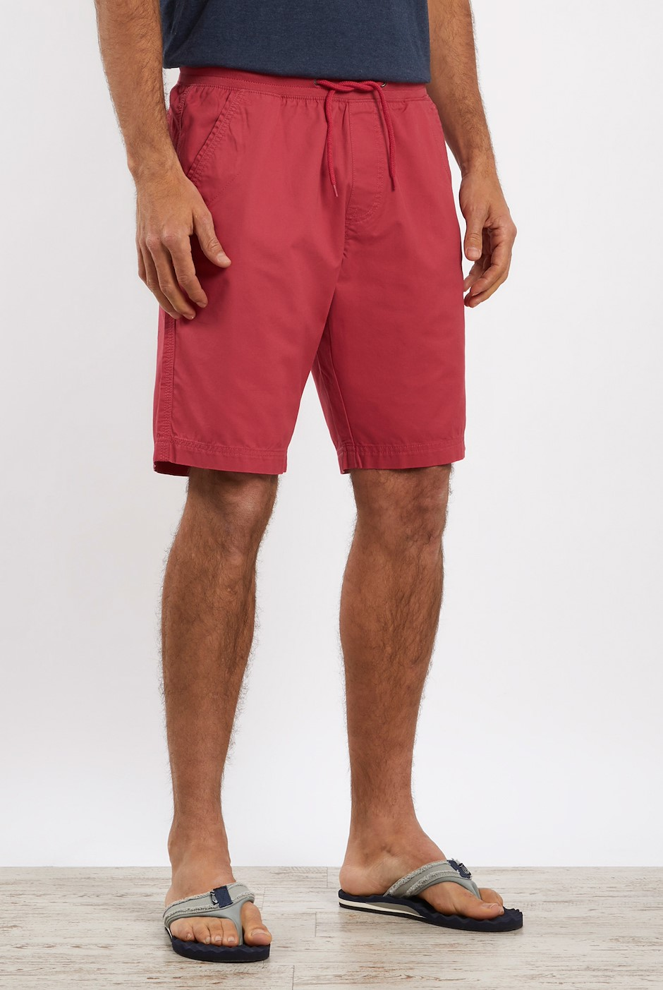 Murrisk Relaxed Casual Shorts Berry