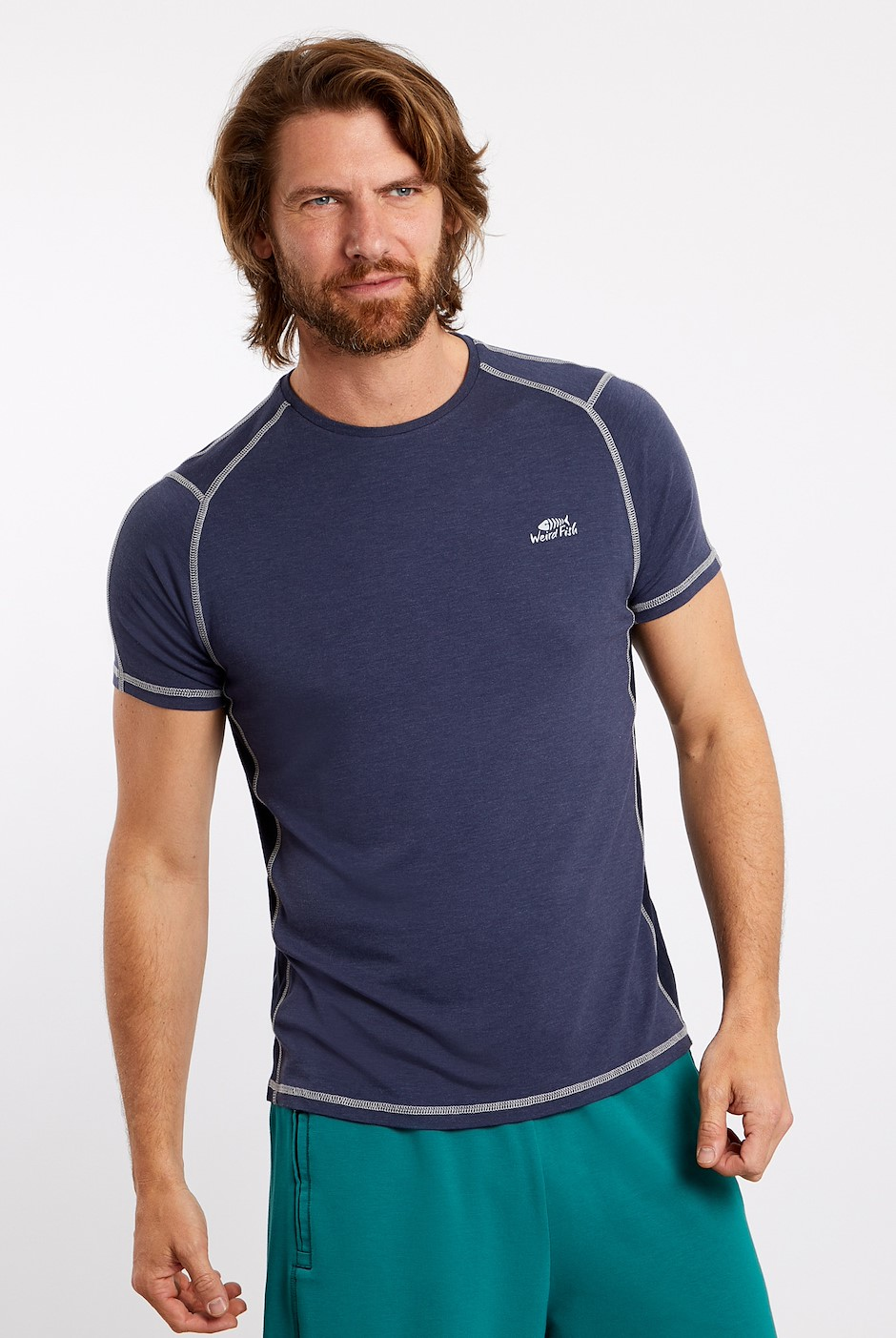 Morpheus Bamboo T-Shirt Navy Marl