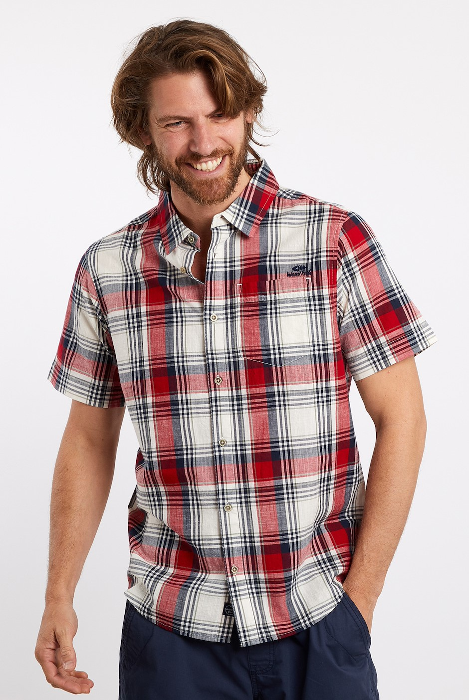 Blackwood Check Shirt Chilli Pepper