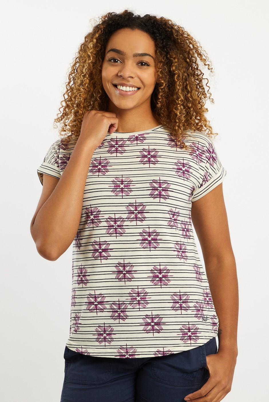 Maja Tencel T-Shirt Light Cream