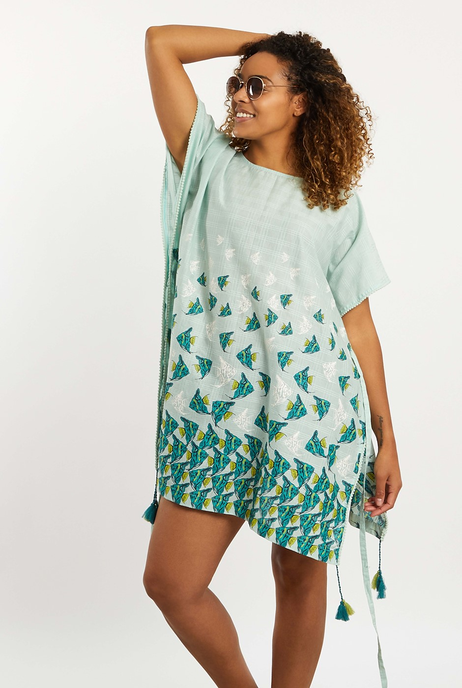 Sheppey Beach Cover Up Spearmint