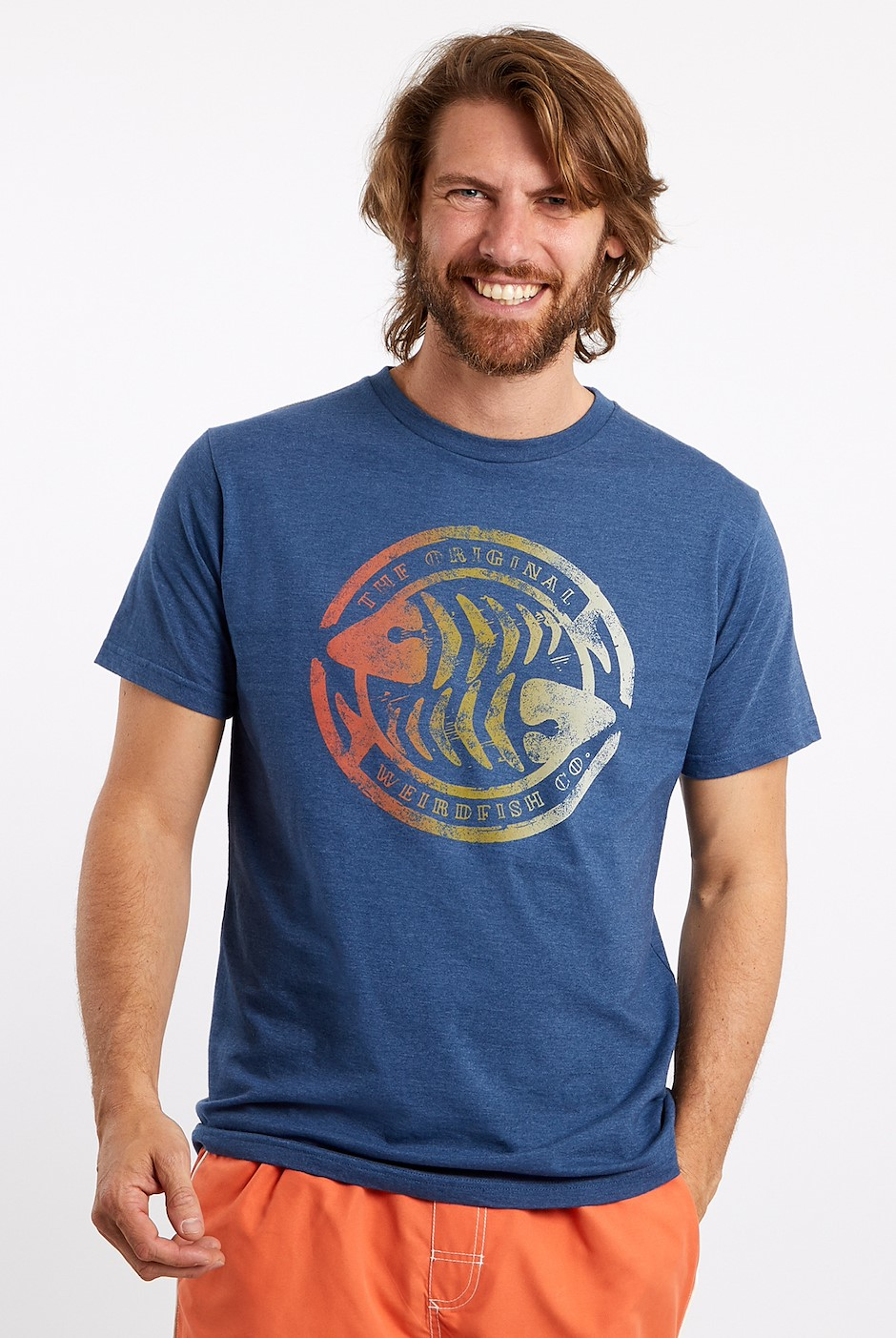 Summer Surf Graphic T-Shirt Ensign Blue