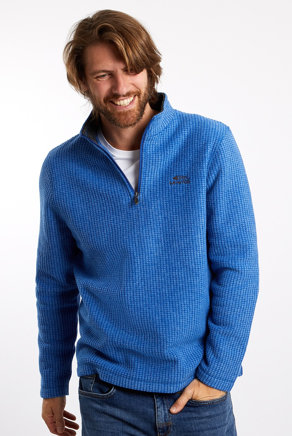 Morle 1/4 Zip Microfleece True Blue