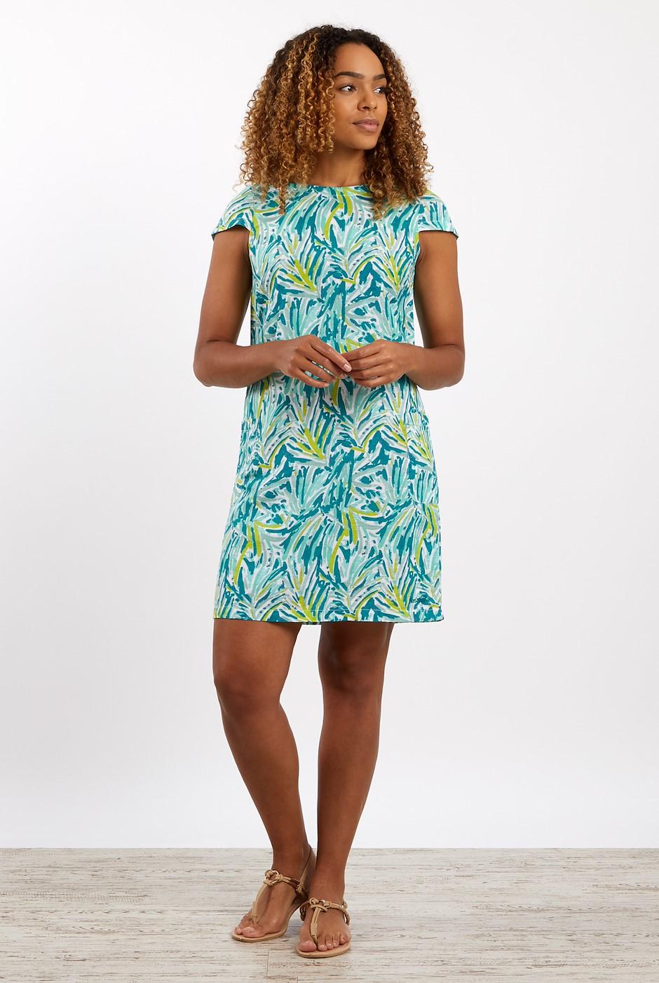 Islay Linen Rich Dress Spearmint