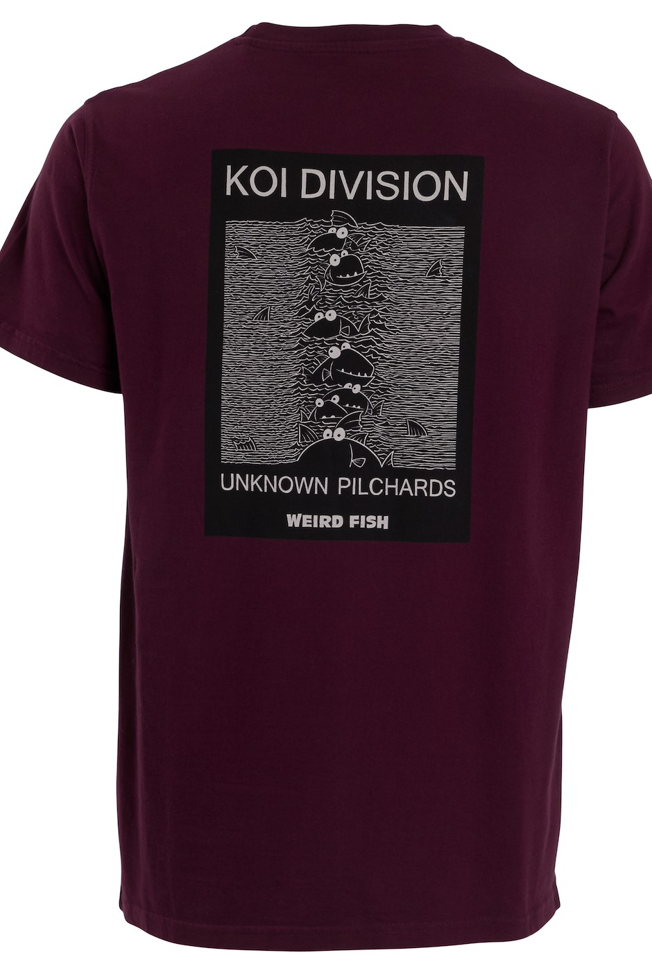 Koi Division Artist T-Shirt Plum