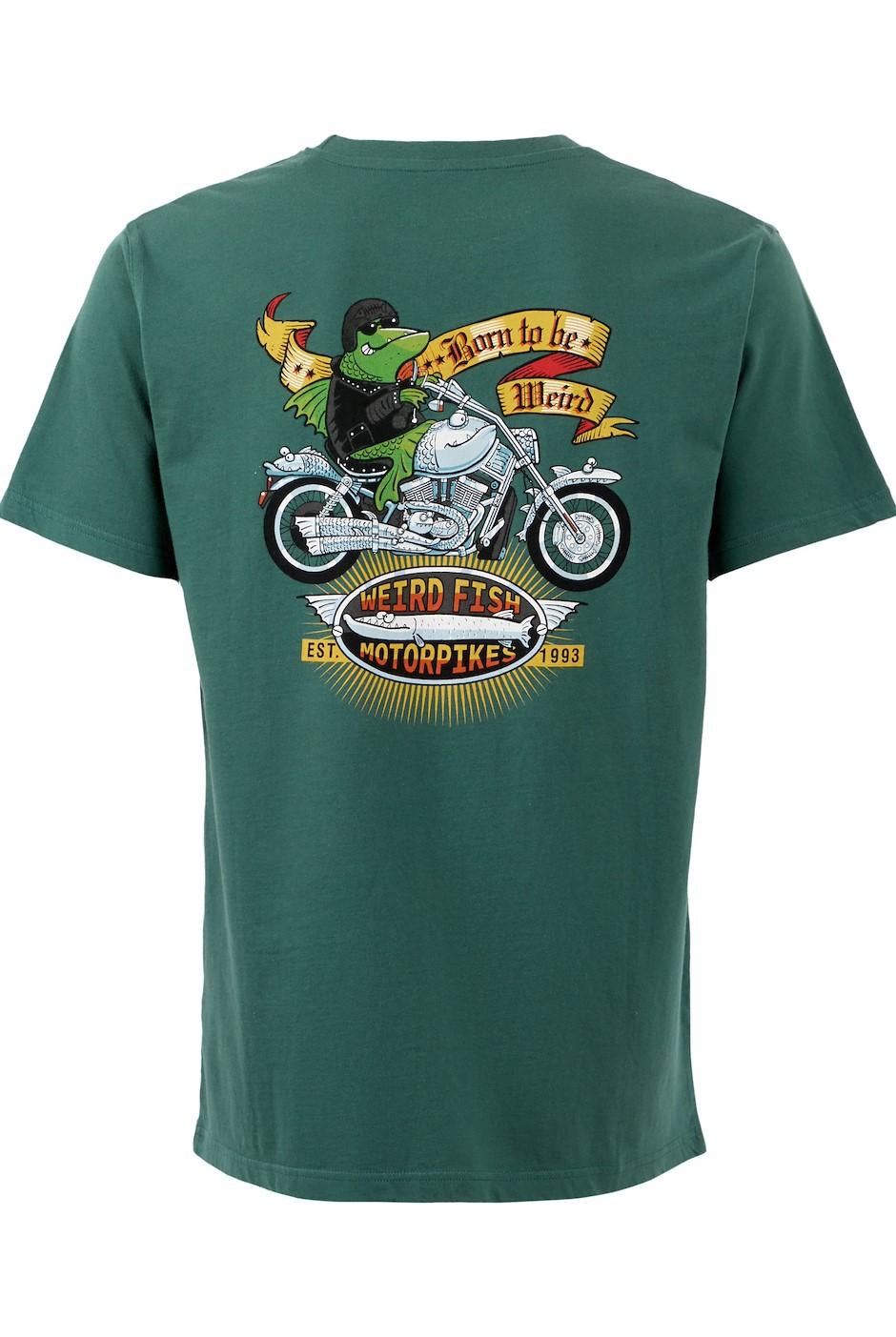 Motorpikes Artist T-Shirt Dark Green