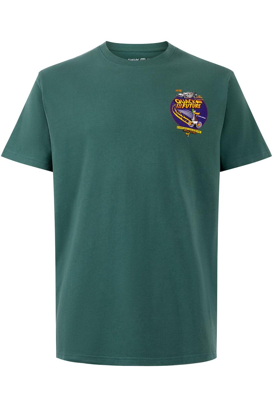 Quack RSPB Artist T-Shirt Dark Green