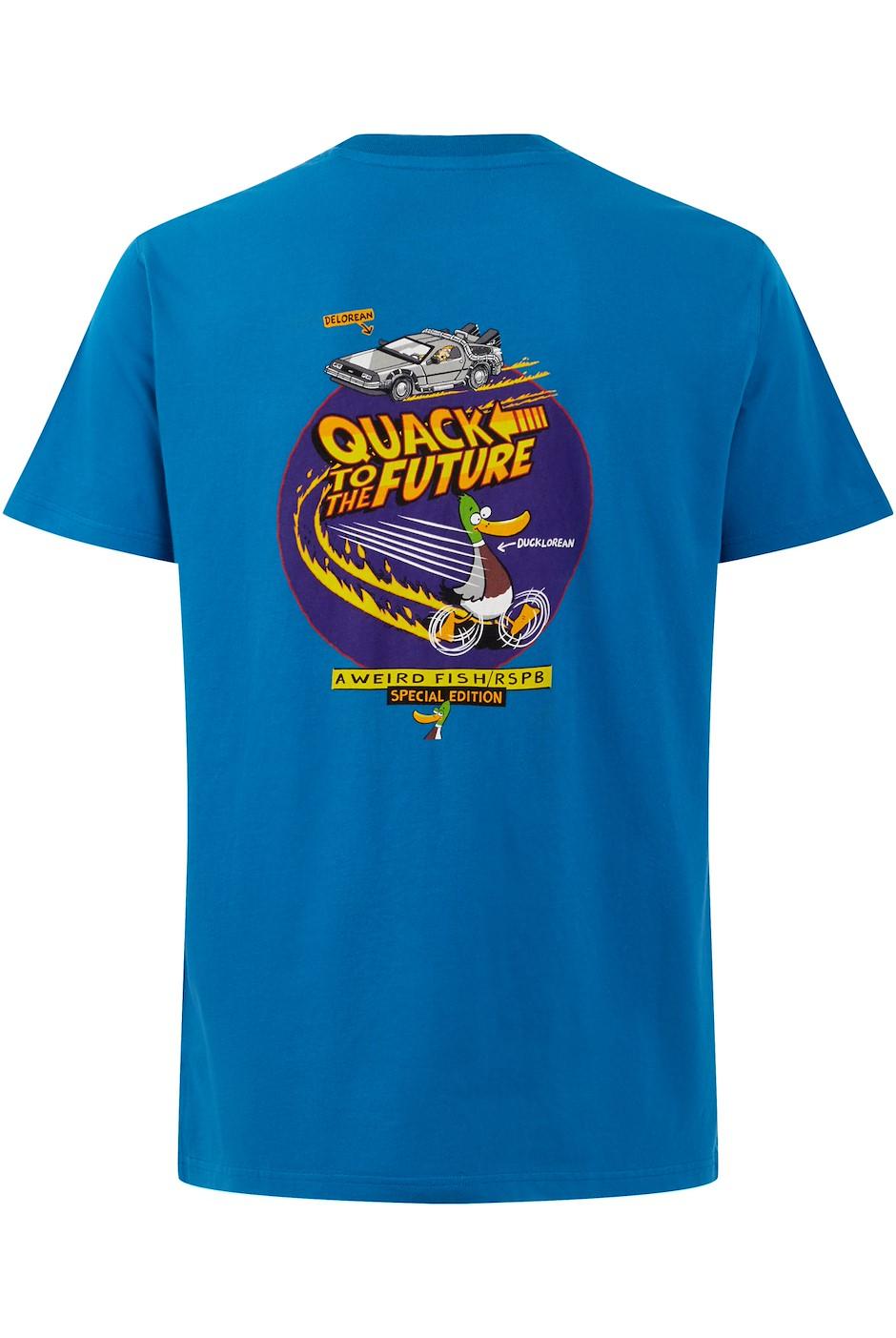Quack RSPB Artist T-Shirt Storm Blue
