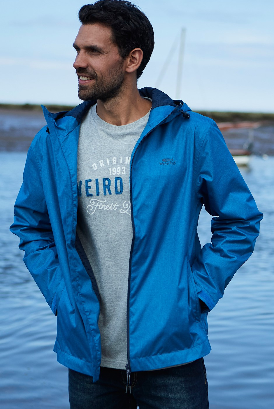 Oykel Waterproof Jacket Storm Blue