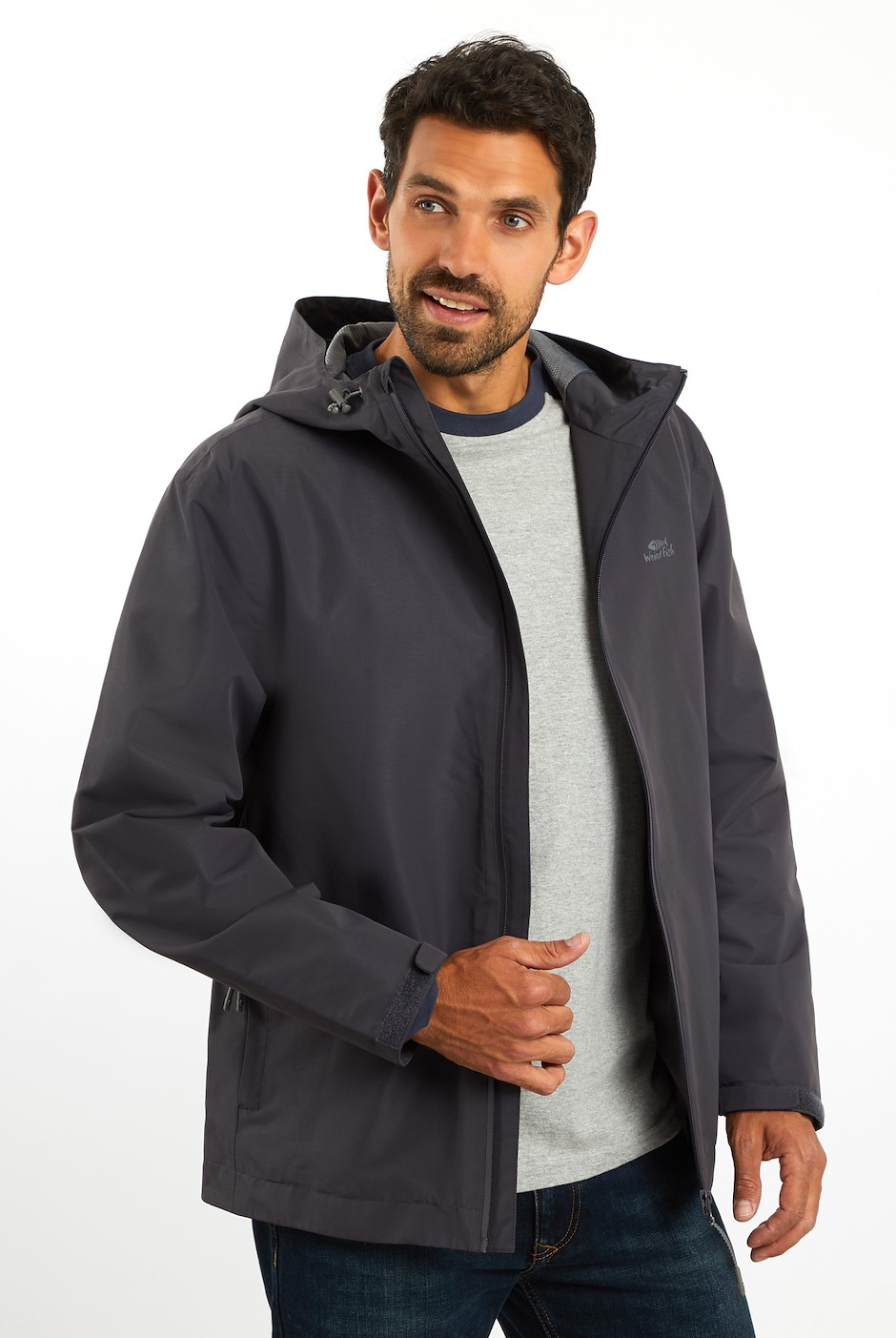 Lagan Waterproof Jacket Coal