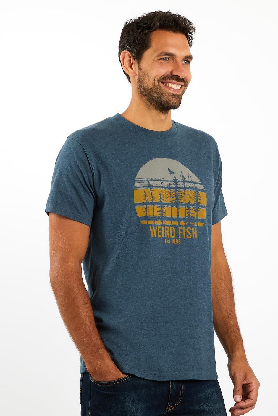 Stay Wild T-Shirt Navy