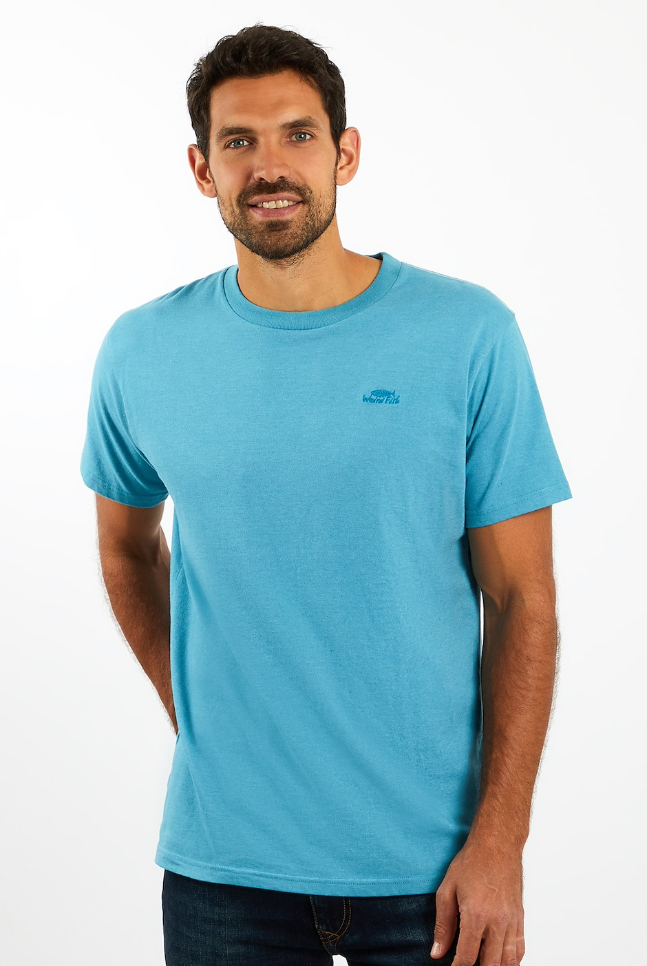 Fished T-Shirt Provincial Blue