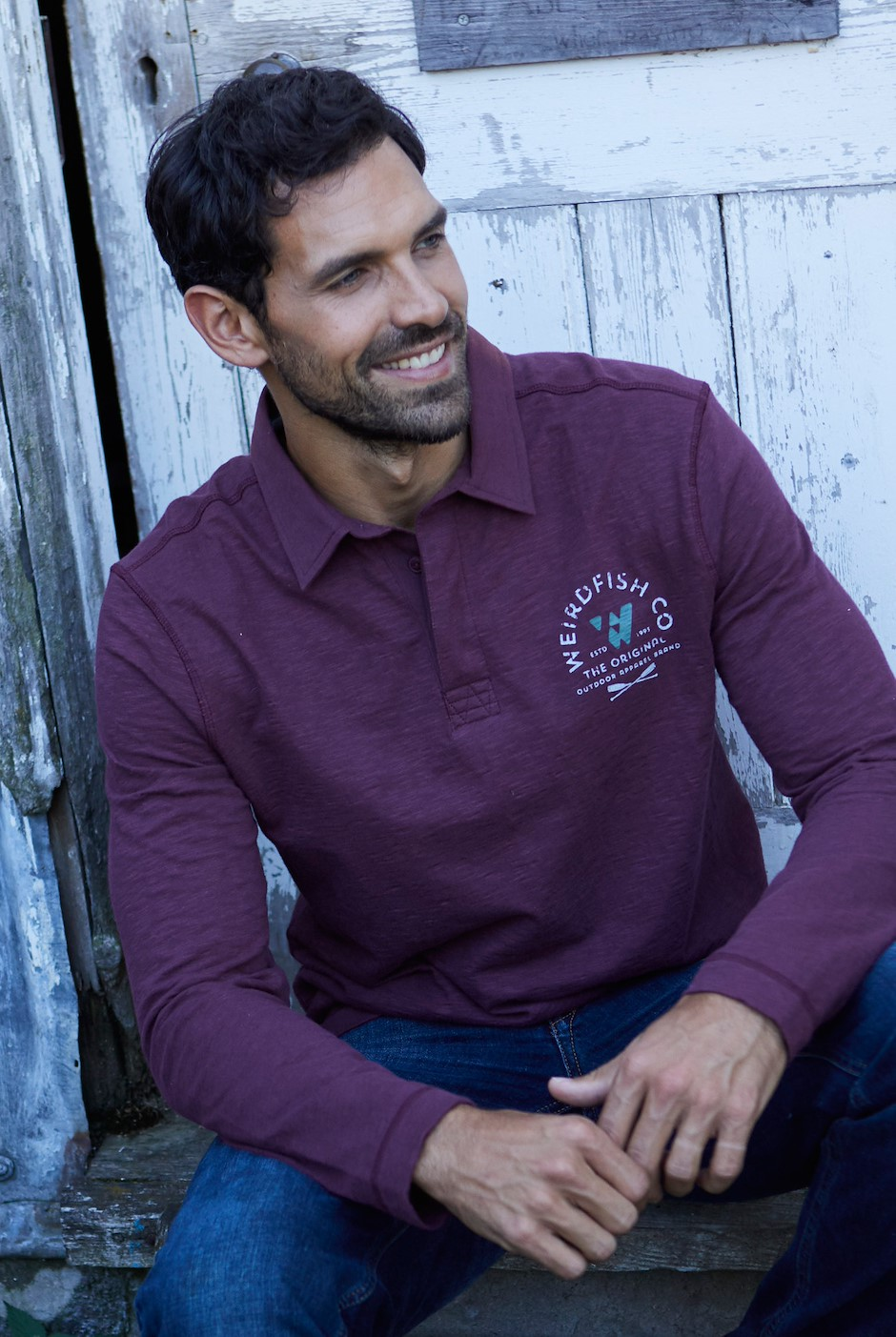Sidwell Rugby Shirt Plum