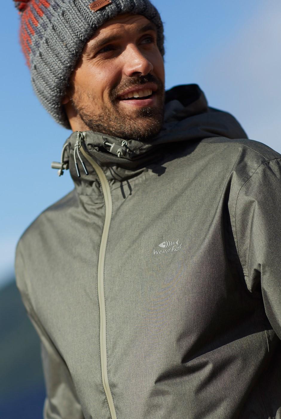 Oykel Waterproof Jacket Dark Olive