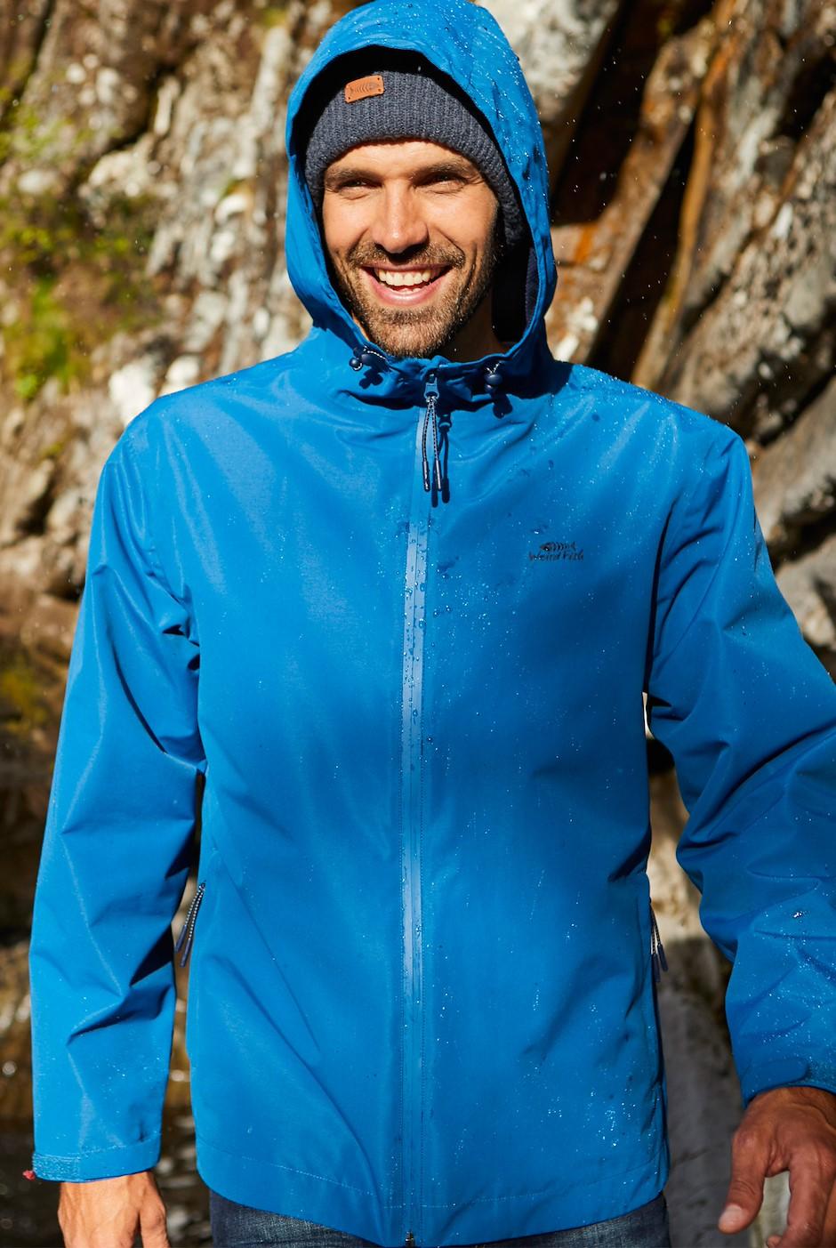 Lagan Waterproof Jacket Ensign Blue