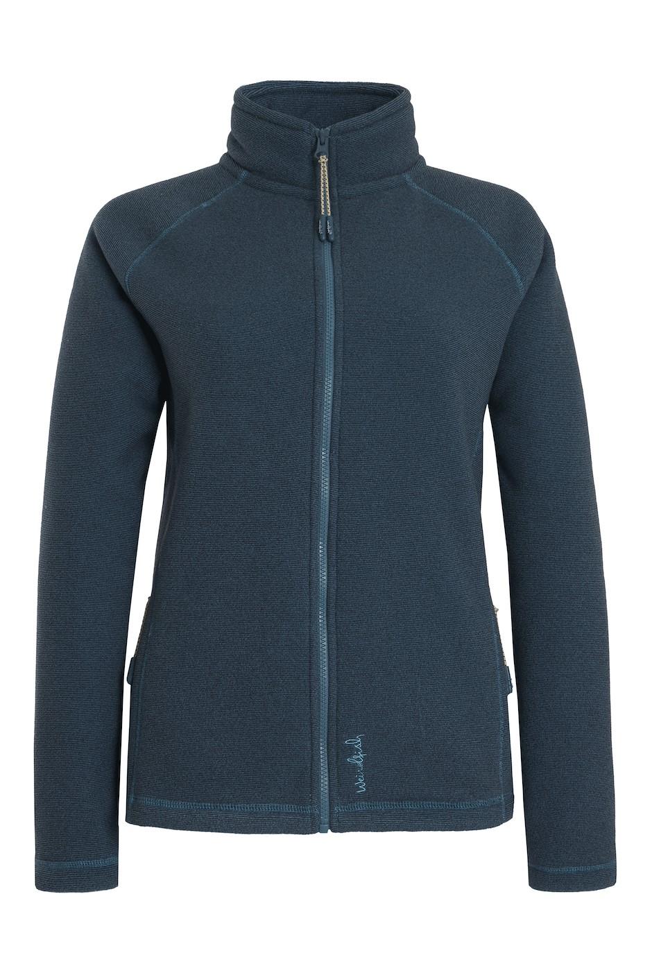 Vanya Full Zip Bonded Fleece Smoked Blue