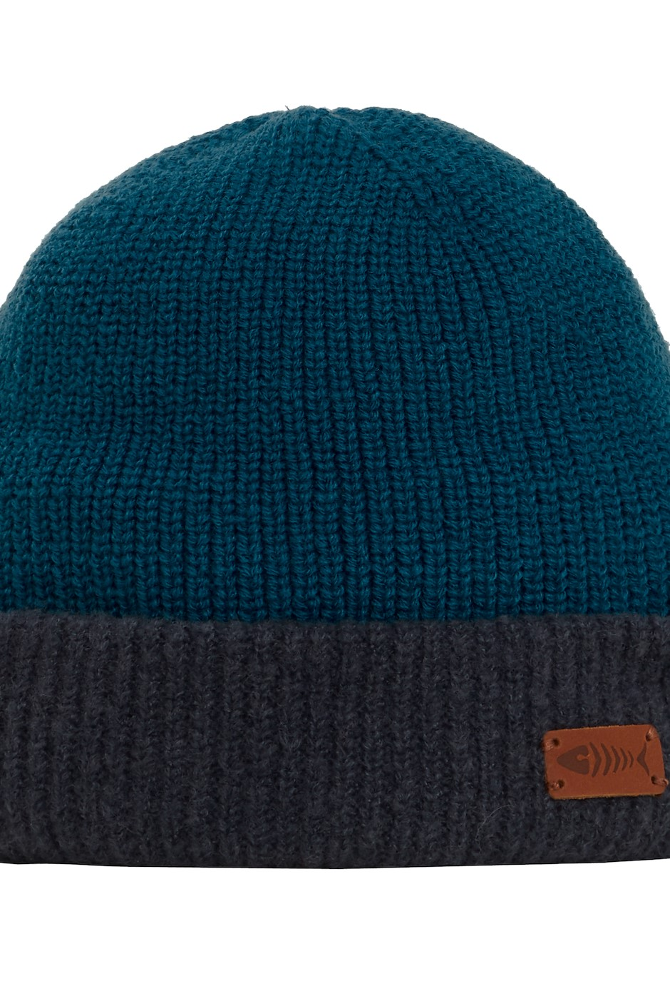 Yukon Reversible Beanie Hat Navy