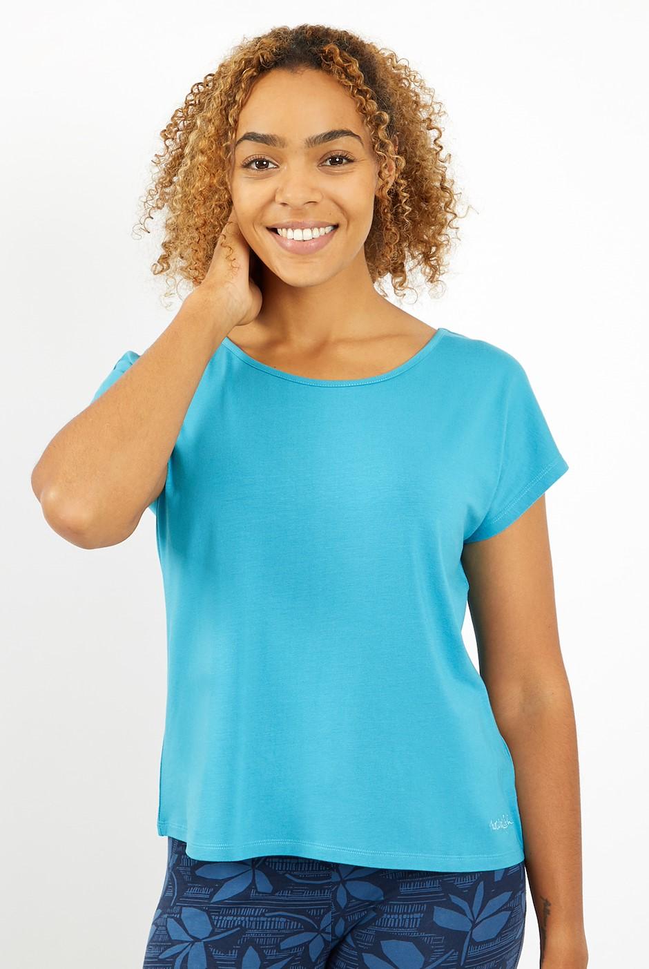 Athena Bamboo T-Shirt Provincial Blue
