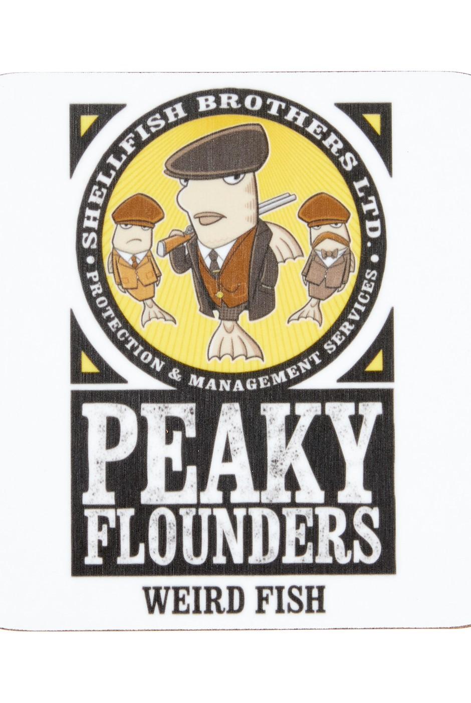 Murphy Peaky Flounders Coaster Plum