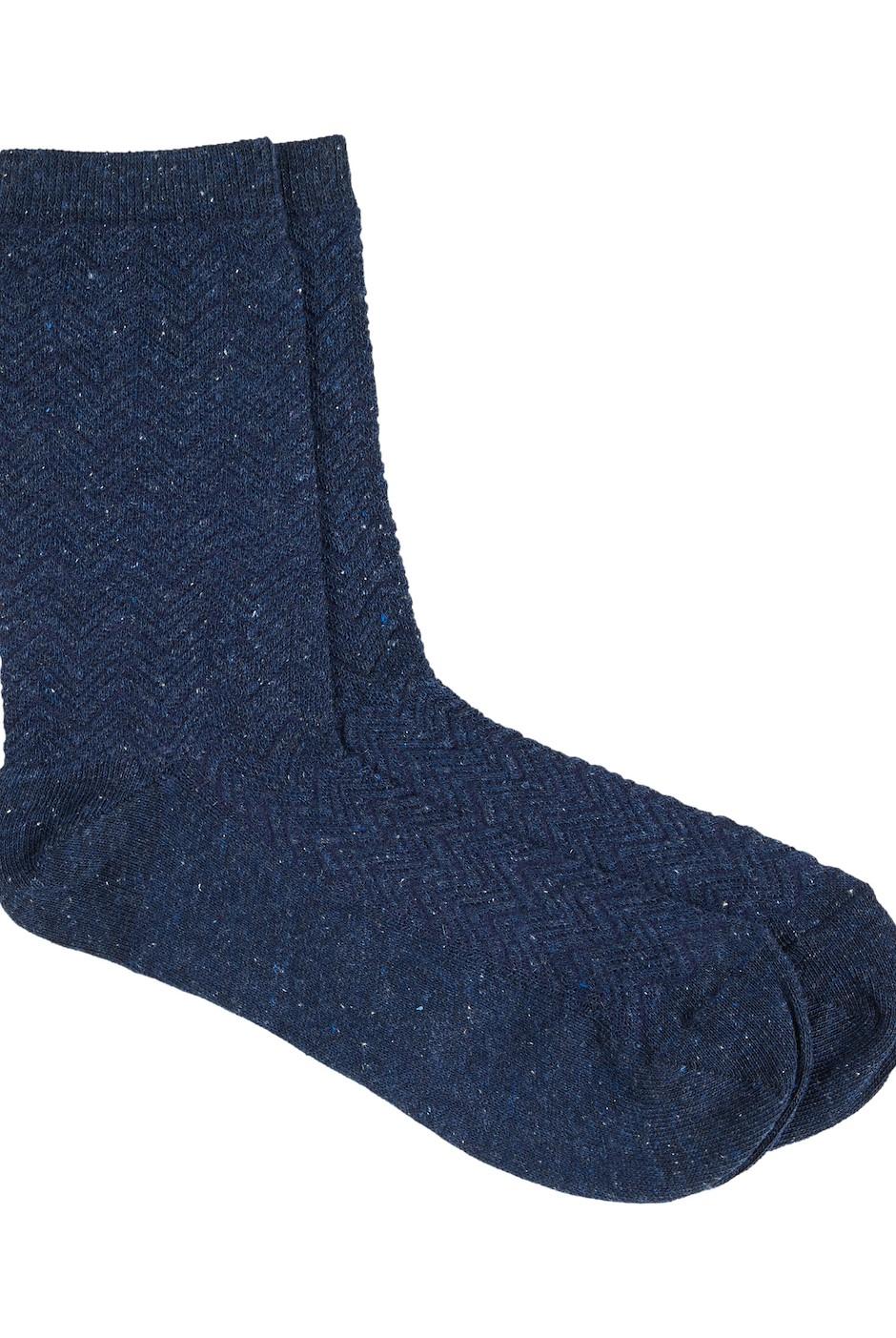 Nuala Socks  Navy