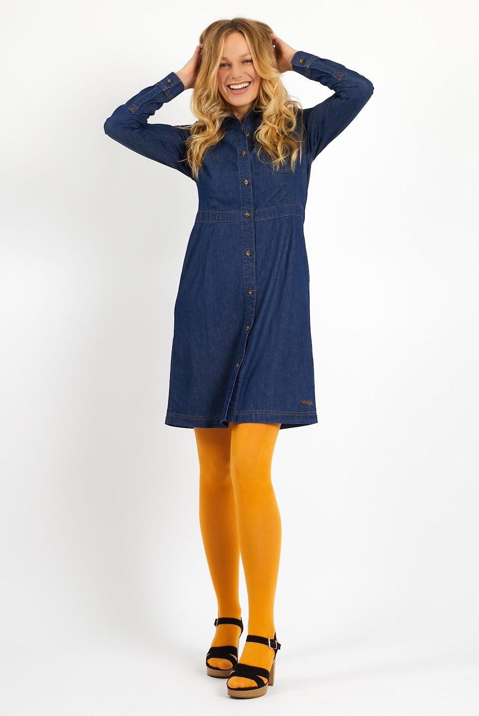 Greta Denim Dress Denim